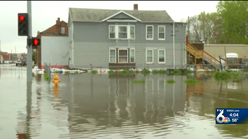Davenport flooding concerns could extend into summer