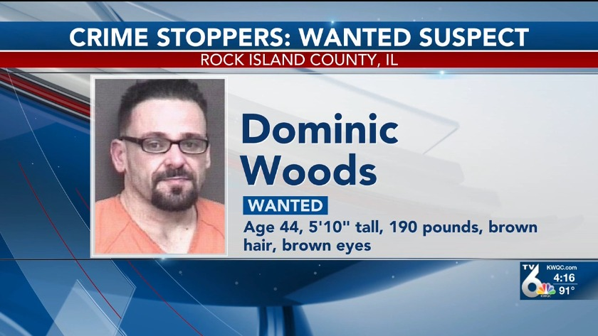 Man wanted on meth delivery charges in Rock Island