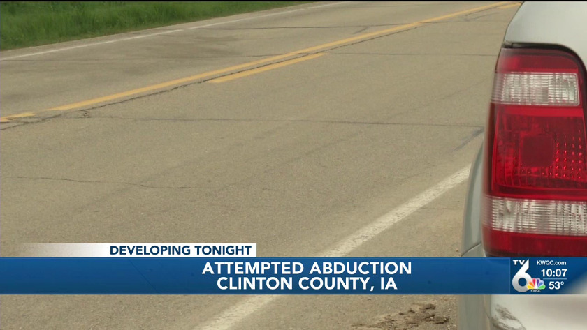 Attempted abduction of teenager in Clinton County says