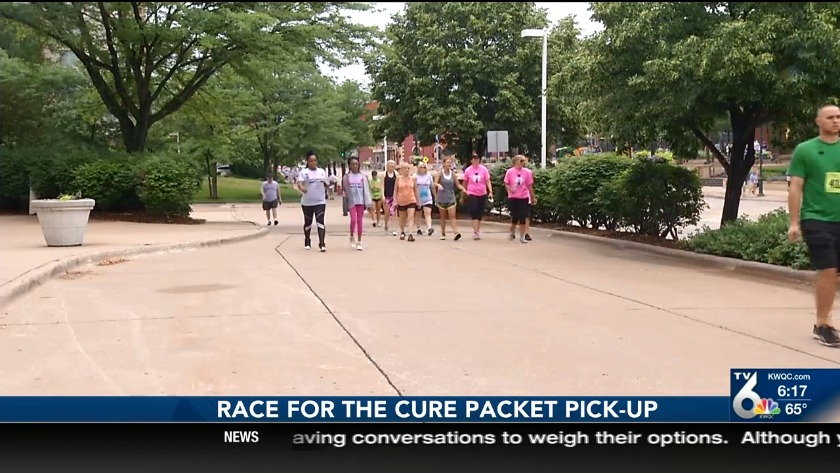 Susan G  Komen Race for the Cure Saturday morning