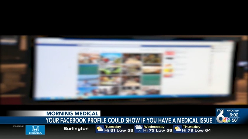 Facebook knows your health problems