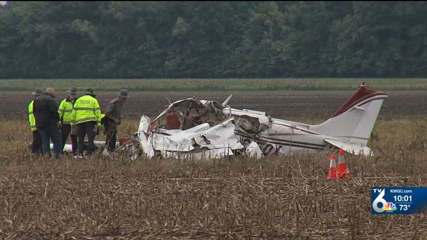 Friends remember two Iowans killed in plane crash