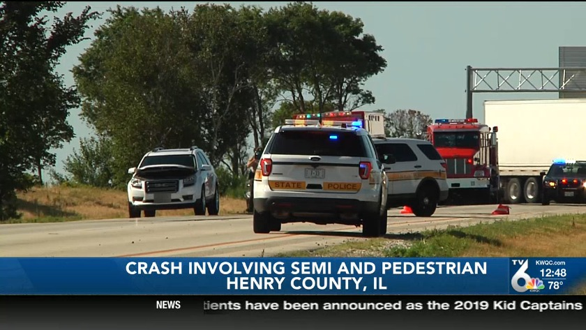 Man killed after being hit by two semis identified as