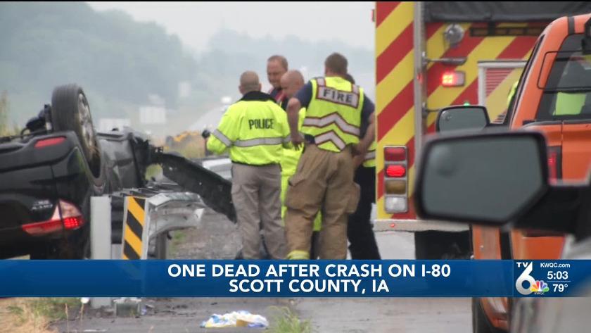 Victim of fatal crash on I-80 identified