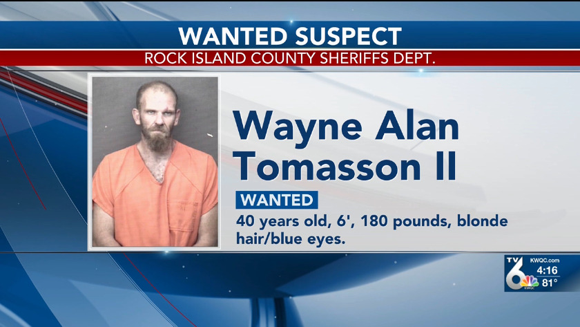 Police looking for man wanted in Rock Island County
