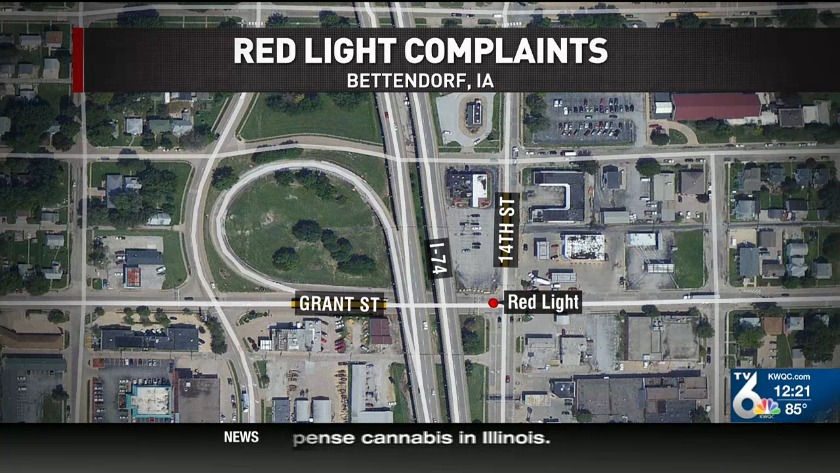 3 5-min  red light at I-74 annoys QC drivers