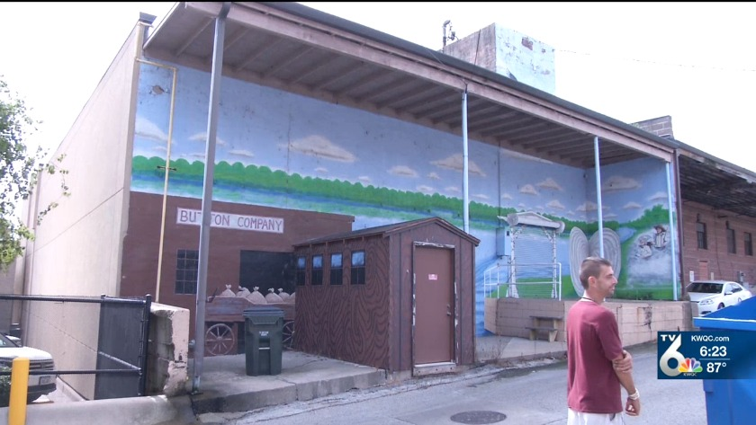 Fran Riley Features: Muscatine man paints murals
