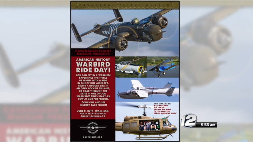 American History Warbird Ride Day