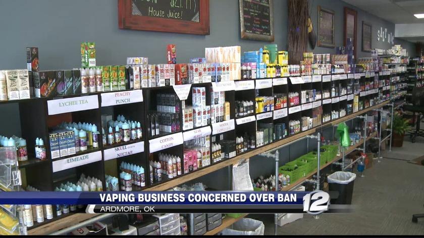 Local vape shop owner concerned over proposed flavored