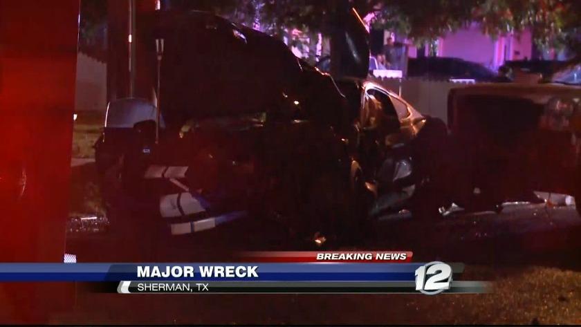 Sherman Tx News >> 4 Injured In Sherman Neighborhood Crash