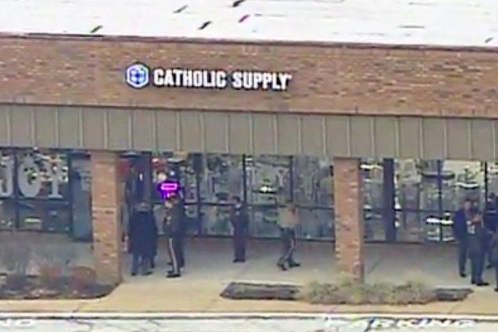 Gunman fatally shoots woman at Catholic store in Missouri