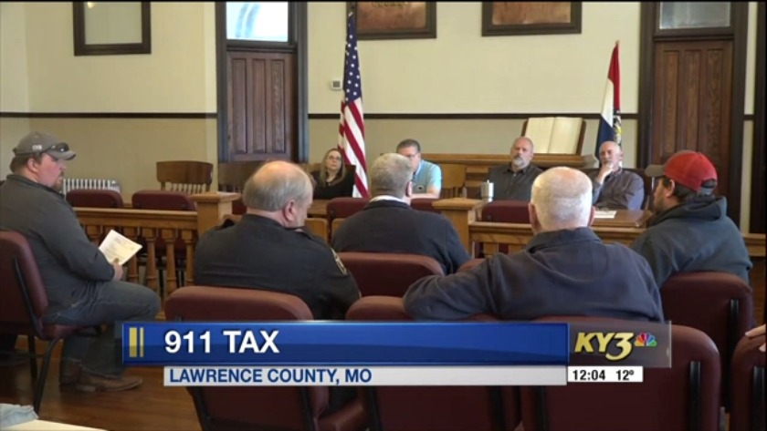 Lawrence County voters ask questions about proposed 911 tax