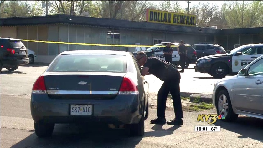 Springfield officer dragged, man shot while trying to escape