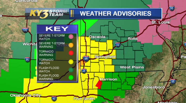 Severe Weather Ramping Up