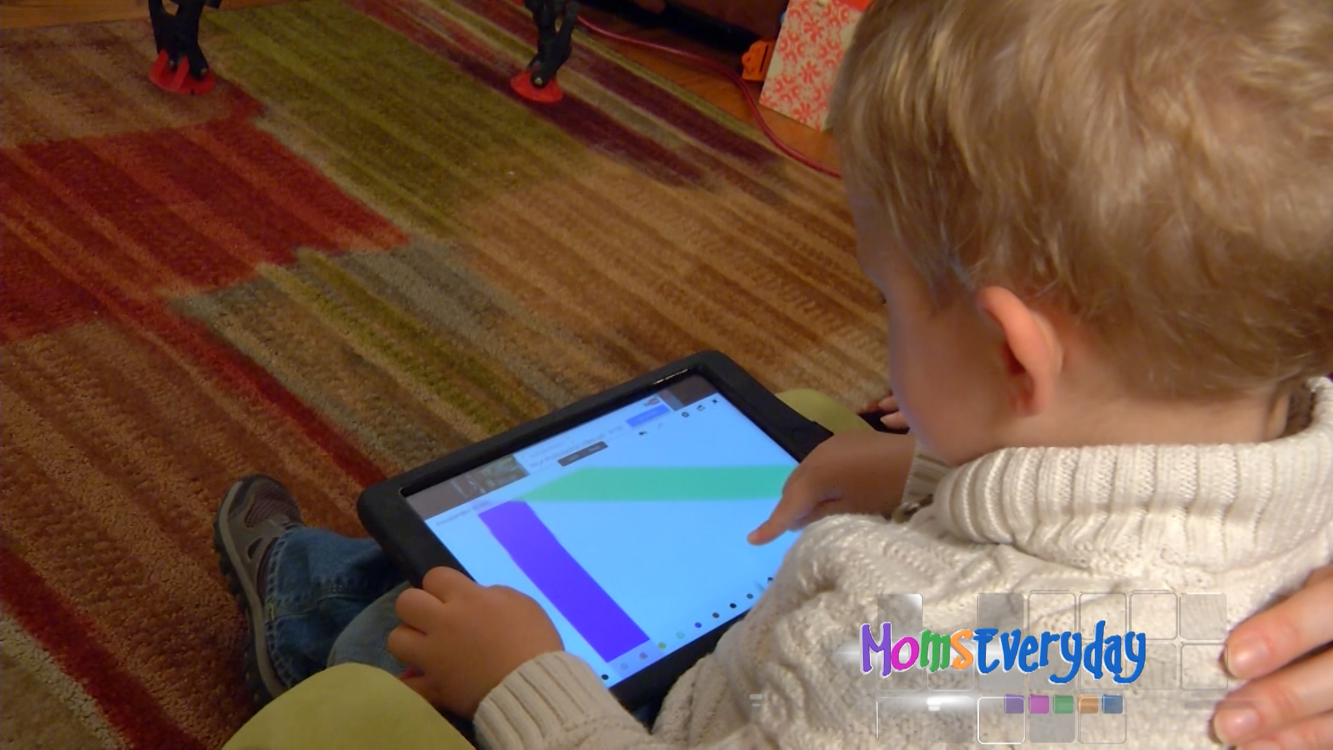 Parental interaction necessary with toddlers and touchscreens