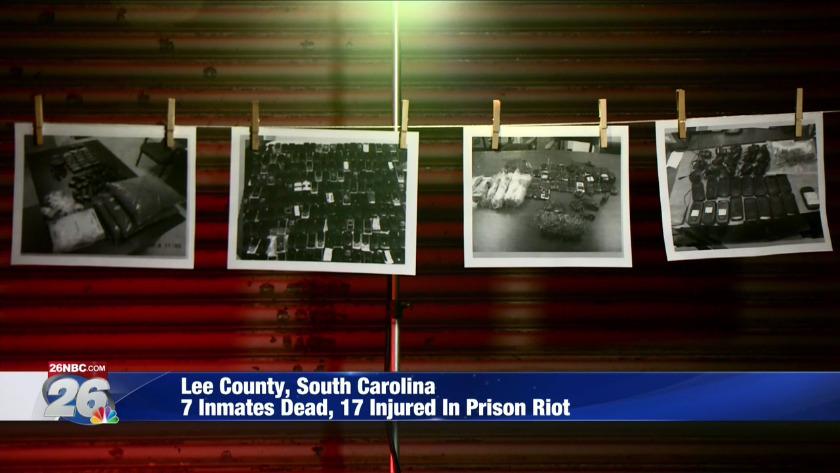 lee county prison riot