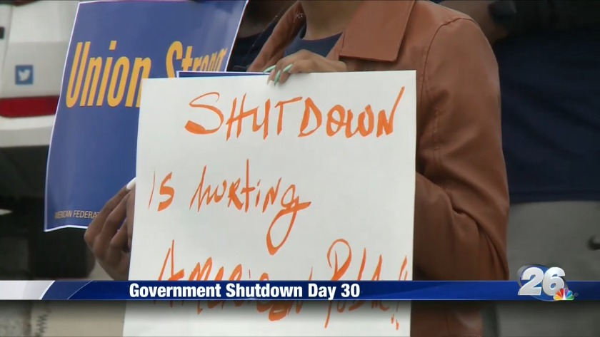 UPDATE   Federal workers wait for backpay