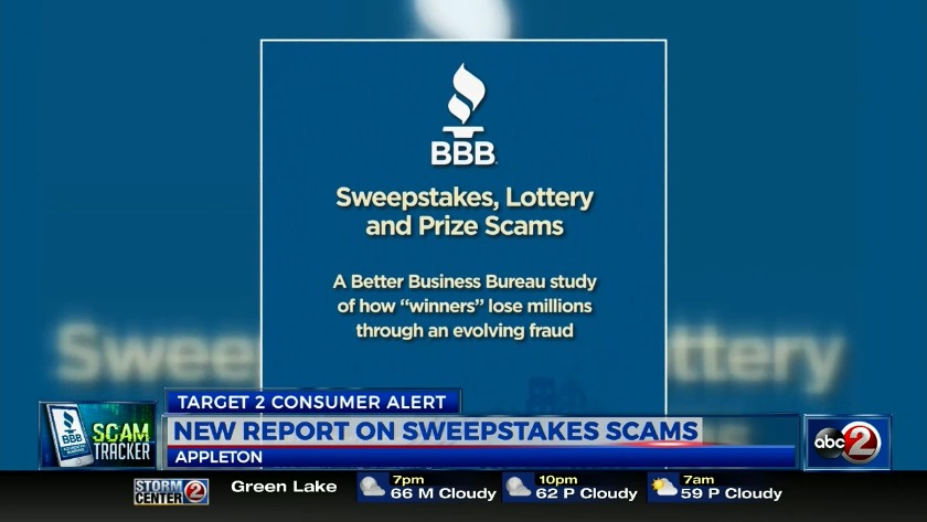 Party like a pro sweepstakes scams
