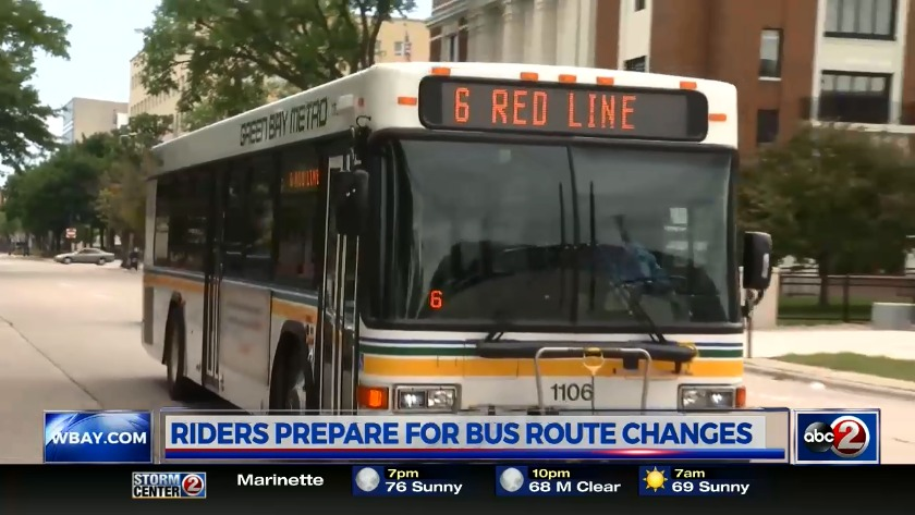 Green Bay Metro considers major changes to bus routes