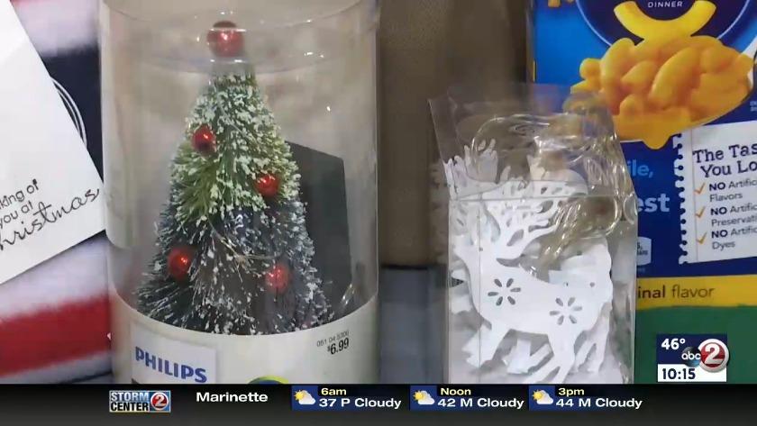 Gigi The Christmas Snake.Video Adopt A Soldier For Christmas