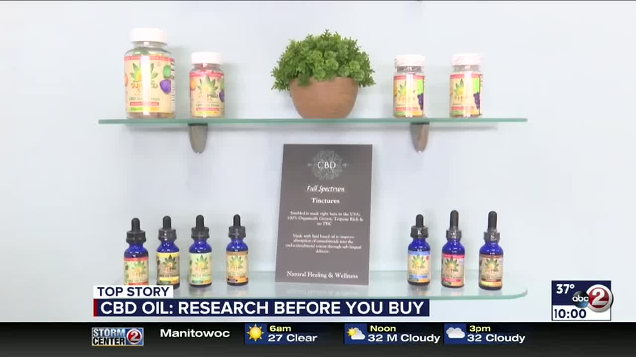 CBD oil: Research before you buy