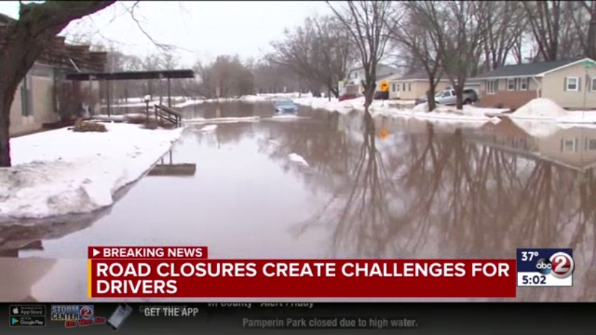 Latest on road closures in Brown County