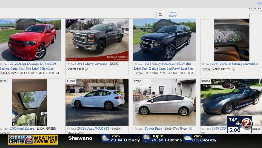Craigslist Wausau Cars >> Dashboard Deception Duo Sold Cars With Altered Odometers