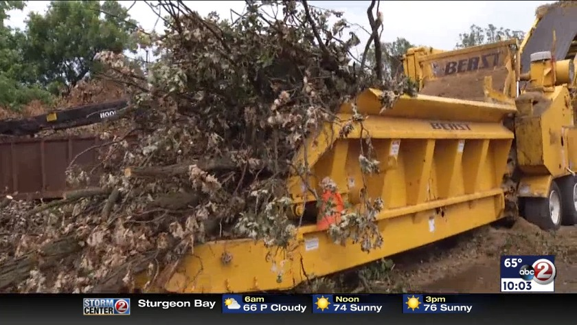 DOT VIDEO: Car crashes into plow