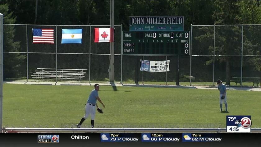WATCH: Denmark hosting 'World Series of softball'