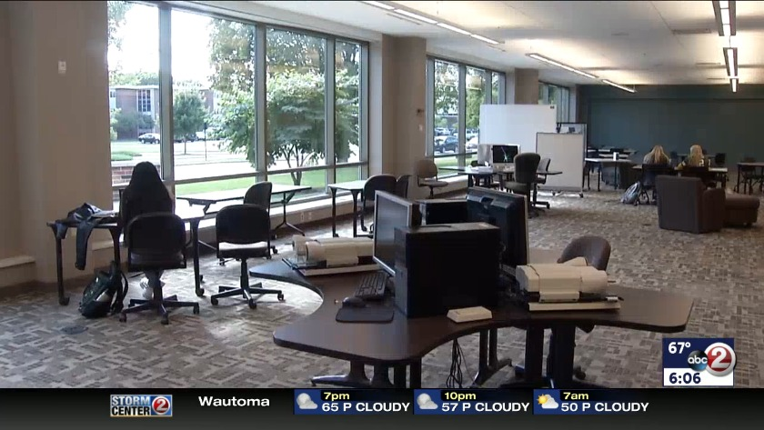 WATCH: Mulva Library changes with the times
