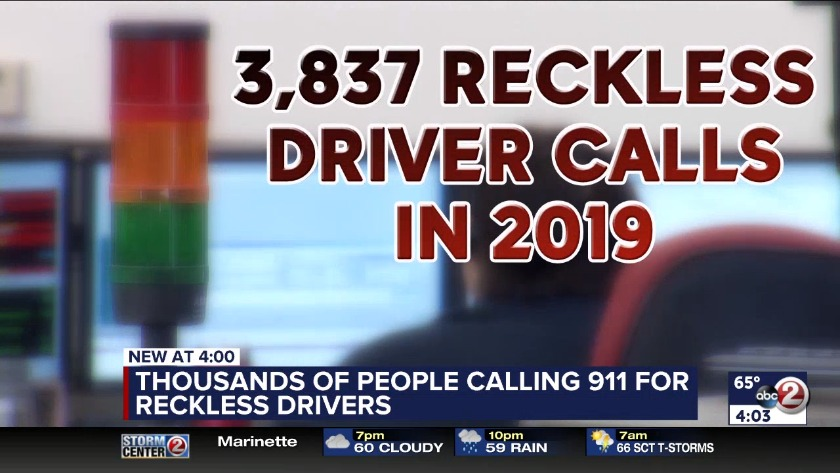 WATCH: Reckless driving calls