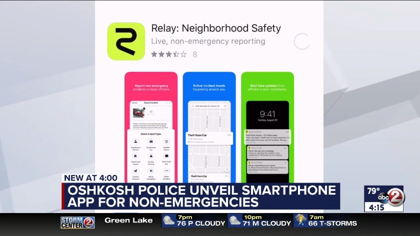 WATCH: Oshkosh Relay app