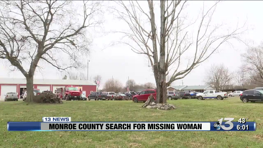 Monroe County Sheriff's Department searching for woman after