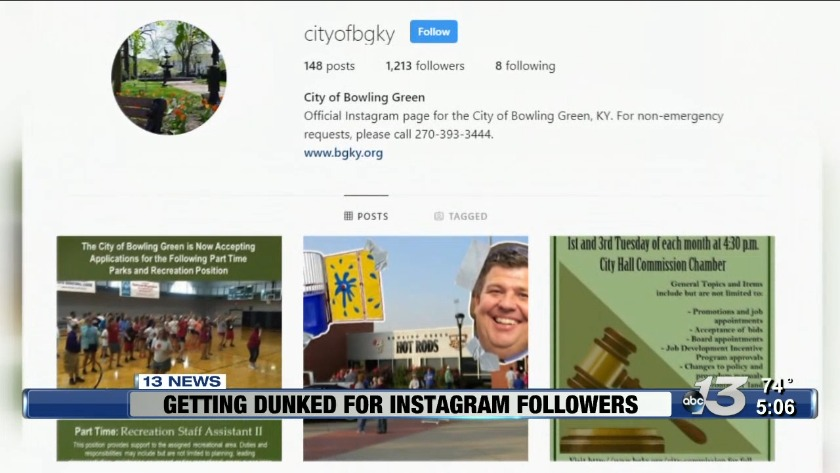 WATCH:City of Bowling Green to dunk Commissioner Slim Nash