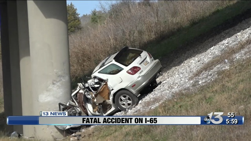 UPDATE: Victim identified in fatal accident on I-65 North