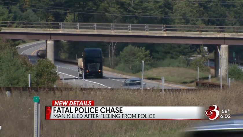 Deadly head-on crash of fleeing suspect ruled a suicide
