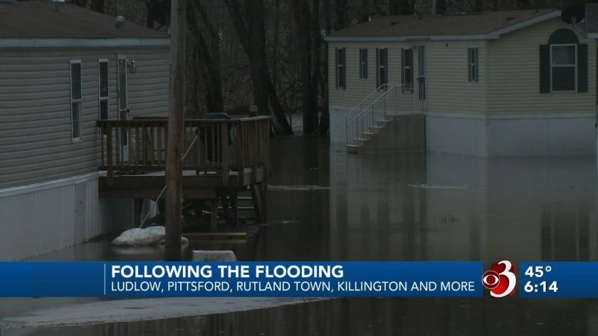 Rain, snowmelt trigger flooding across the region