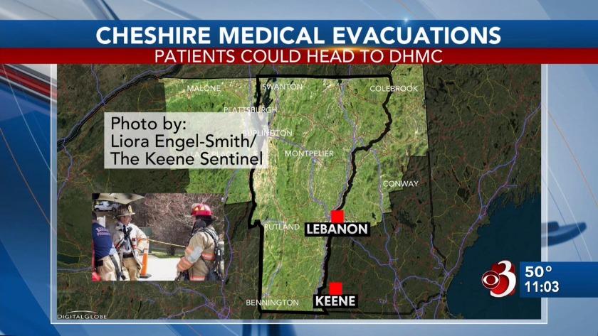 Boiler malfunction forces evacuations at Keene hospital on