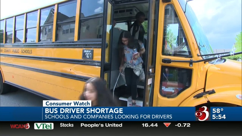 Shortage has teachers stepping in to help drive school buses