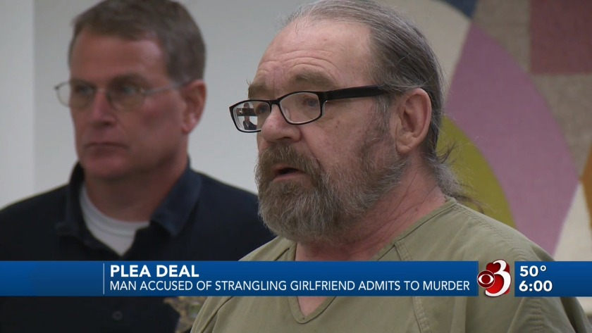 Vermont man accused of strangling girlfriend admits to murder