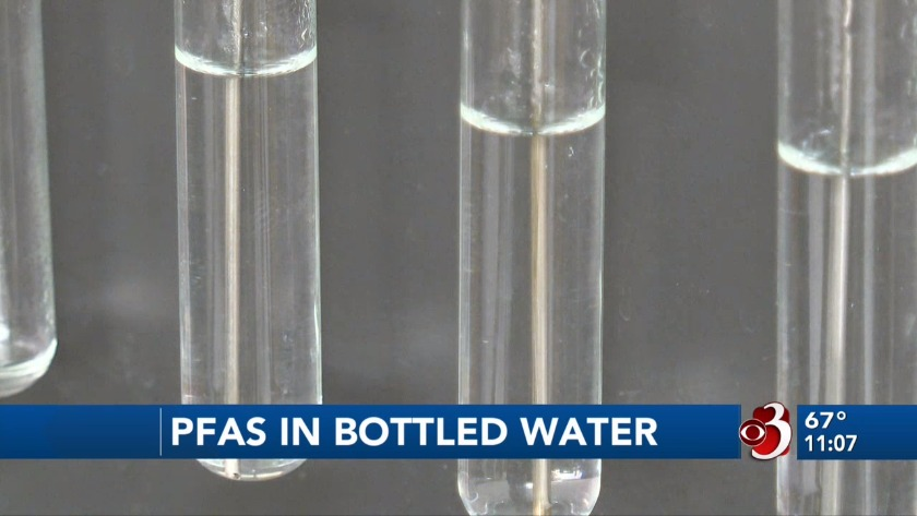 Bottled water with PFAS pulled from local shelves