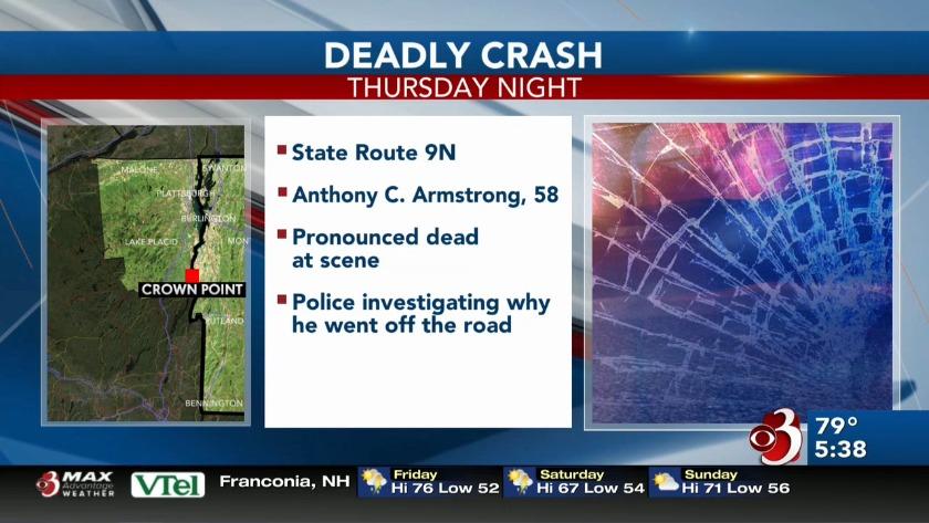 Northern New York man killed in crash