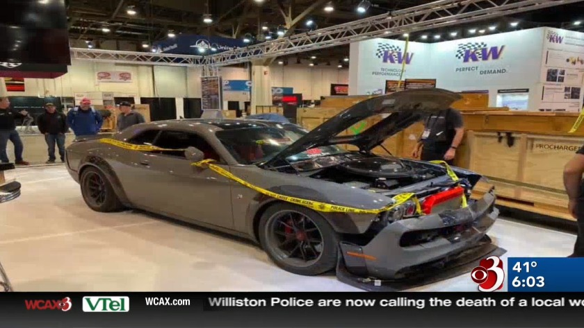 Vegas Car Show >> Stolen Damaged Vermont Made Car Makes It To Las Vegas Car Show