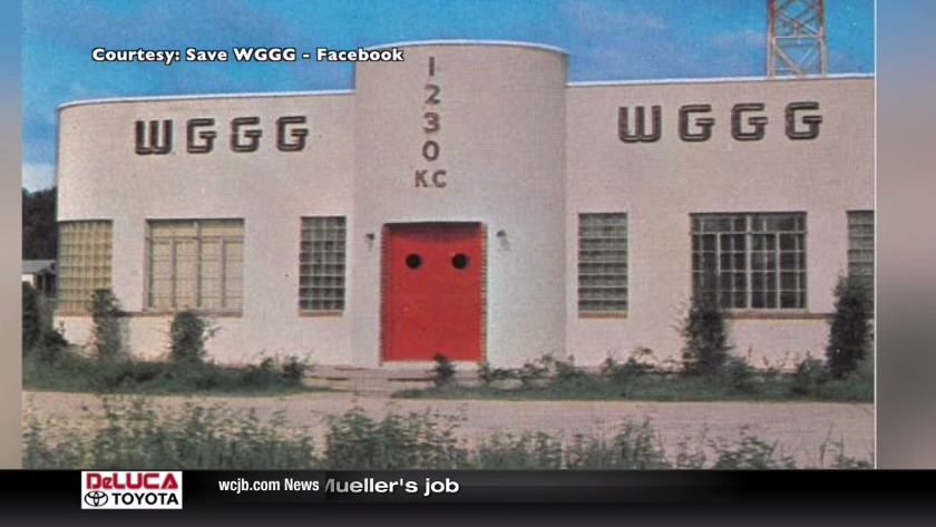Group Tries to Save Building Known for WGGG Radio Before