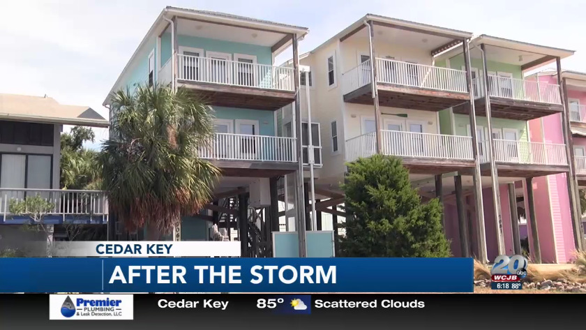 Incredible Hurricane Michael Damage A Surprise To Cedar Key Residents Home Interior And Landscaping Transignezvosmurscom