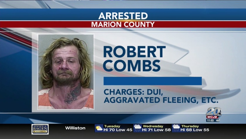 DUI Suspect Arrested in Marion County