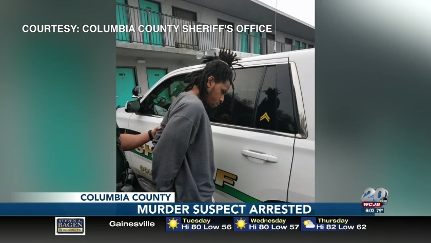 Murder suspect from Tampa arrested by Columbia County
