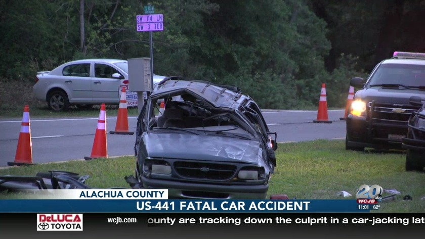 Fatal car accident on US-441