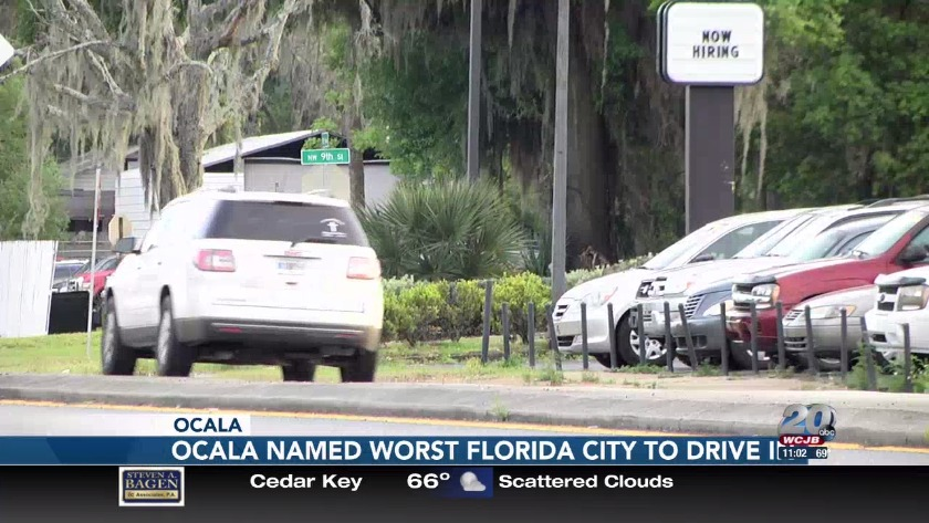Ocala named worst city in Florida to drive in