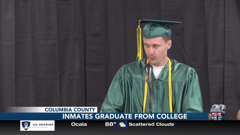 Inmates receive college degrees thanks to second chance program